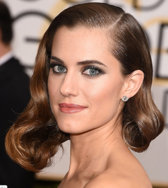 Allison-Williams-maquiagem-golden-globe-2015